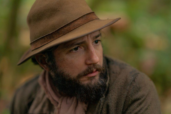 John Magaro, the protagonist, is working with Reichardt again on his new film, with Michelle Williams.  Photo MUBI
