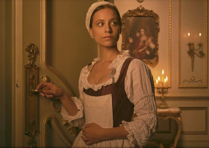 Michelle Jenner is Castamar's cook, the maid who falls in love with the aristocrat.