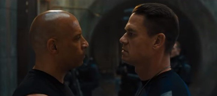 Toretto confronts his brother in the ninth installment of Fast and Furious.