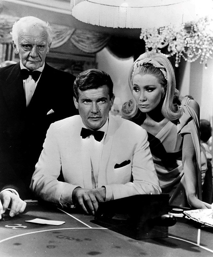 Roger Moore, as The Saint of television.  Photo EFE