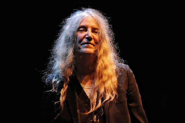 Patti Smith, in November 2019 at Luna Park.  He will do a duet with Springsteen.  Photo Martín Bonetto