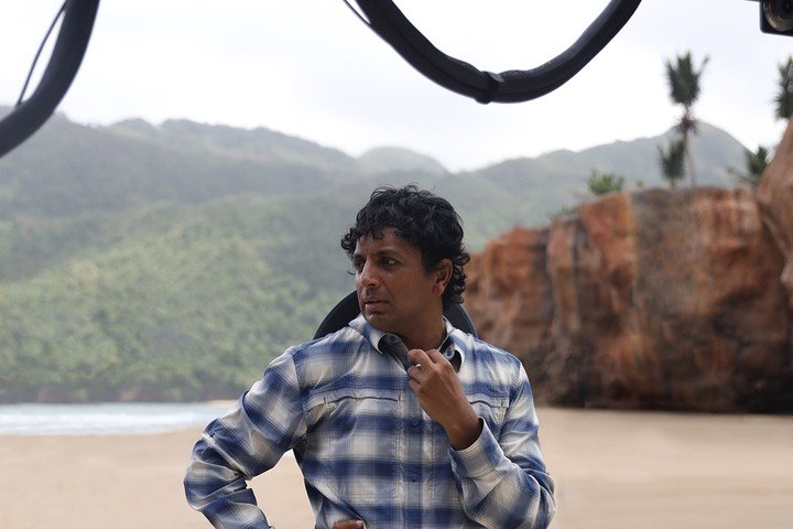 M. Night Shyamalan reserved - as always - a role in the film. Photo UIP