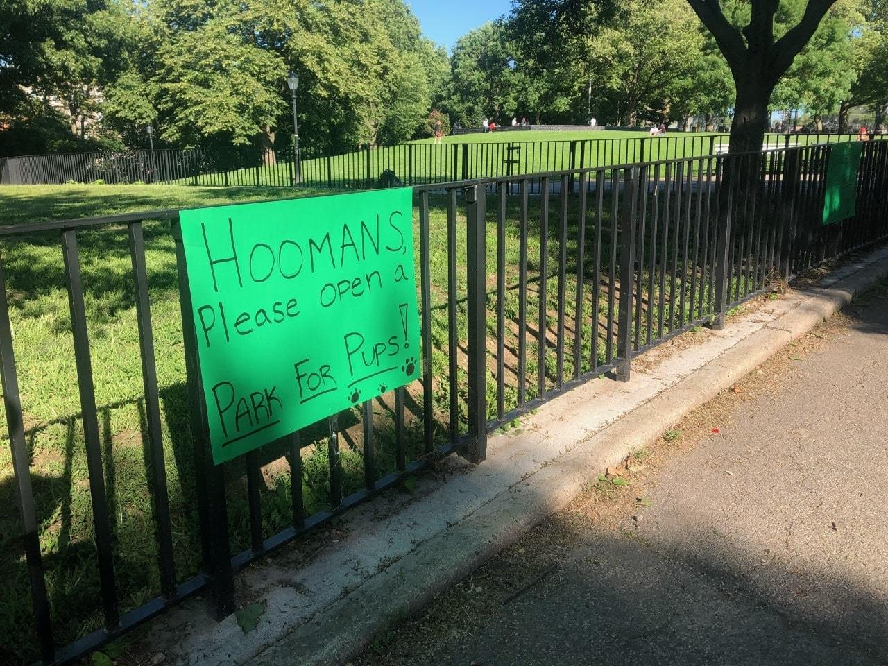Dog owners ask city for dog run in Sunset Park