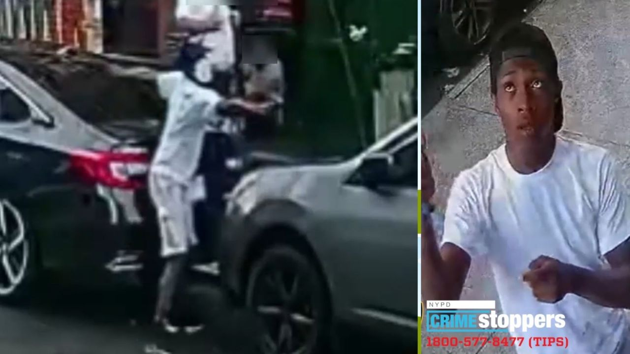 Video: Gunman chases after, fires shots at man on Harlem street