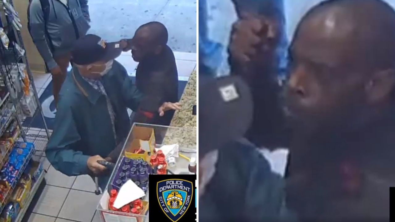 Video: Man punches 82-year-old man, takes his cane in Manhattan bodega