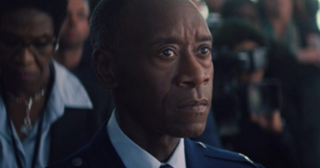 Unusual: Emmy-nominated actor for just three minutes of acting in Falcon and the Winter Soldier