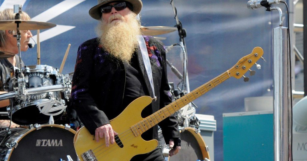 Dusty Hill, bassist and founder of the mythical band ZZ Top, has died