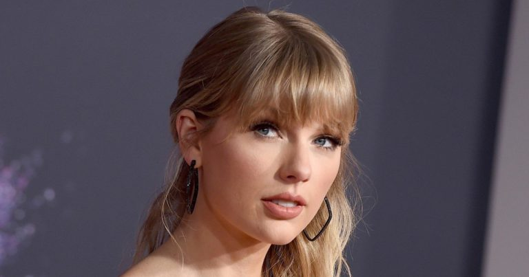 Taylor Swift, the artist who won the most in a year in which the numbers went down