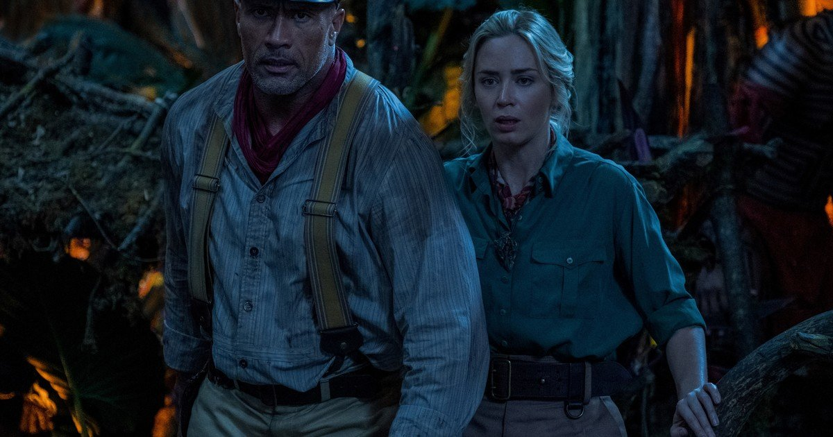 Jungle Cruise, with Dwayne Johnson and Emily Blunt: Action, humor and some horror