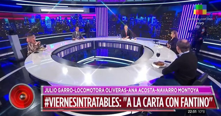 What did Alejandro Fantino do with Intratables?