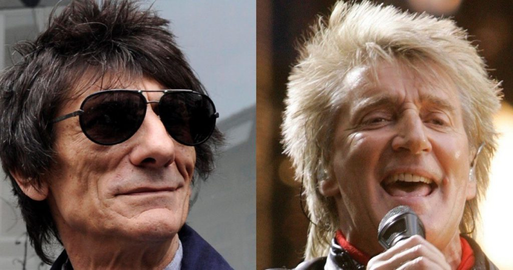 Ronnie Wood returns to record with Rod Stewart new material for his old band Faces