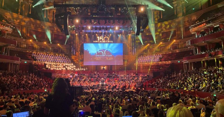 The Royal Albert Hall celebrated its 150 years of history
