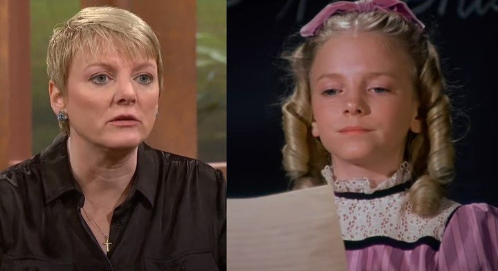 Today and yesterday, actress Alison Arngrim
