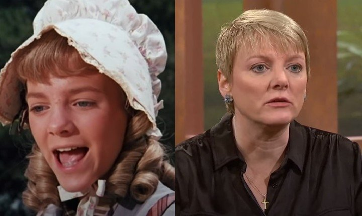 Forty years later.  Actress Alison Arngrim