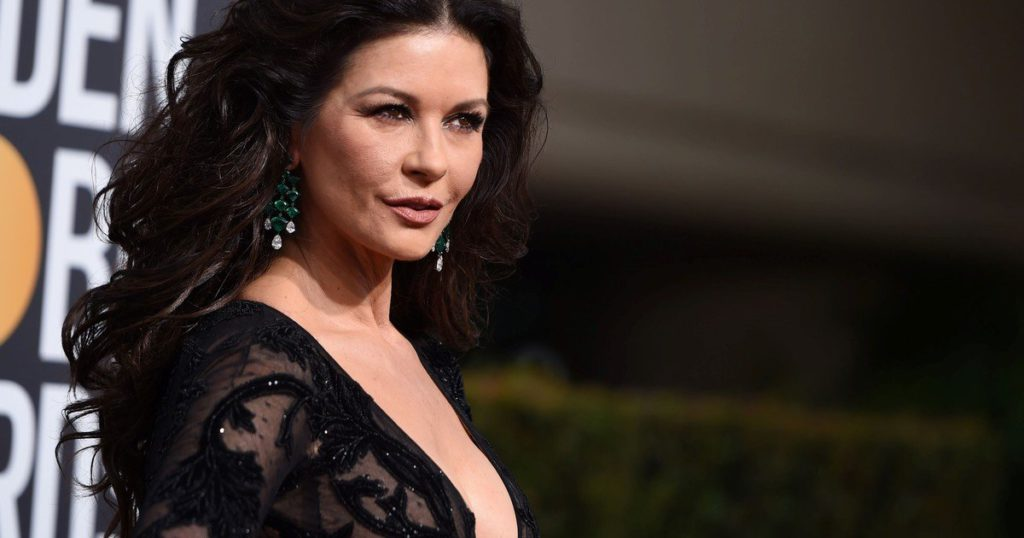 Catherine Zeta-Jones will be the new Morticia from Los locos Addams