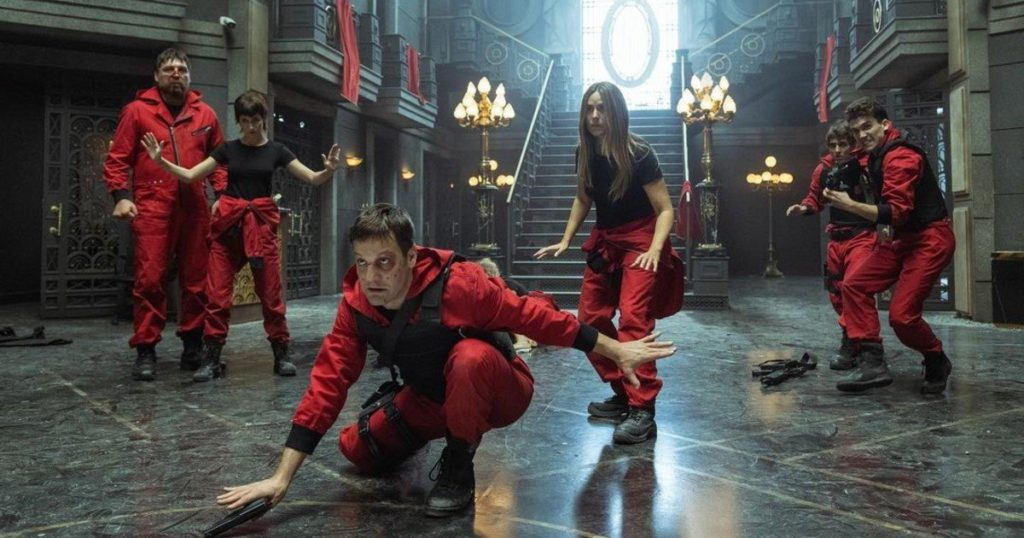 The new of La casa de papel, less than a month before the fifth season