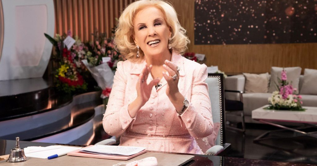 """Mirtha Legrand, after her return to TV: """"As long as I live, I will never forget that emotion"""""""
