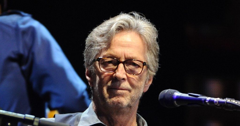 Eric Clapton released a song reaffirming his stance against the vaccine
