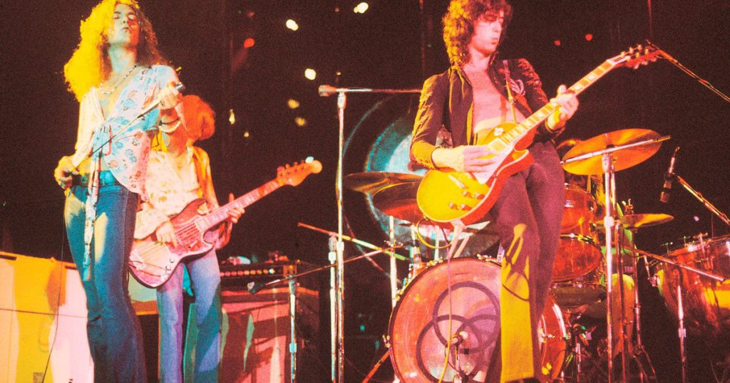 Led Zeppelin: the band that chose to tell their story in a documentary instead of a biopic