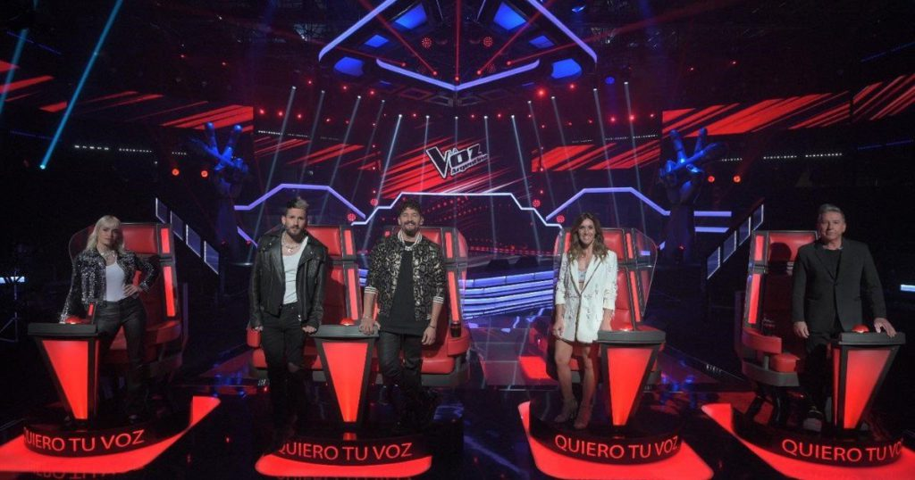 The rating of the month: with La Voz Argentina as the most watched, Telefe took over July
