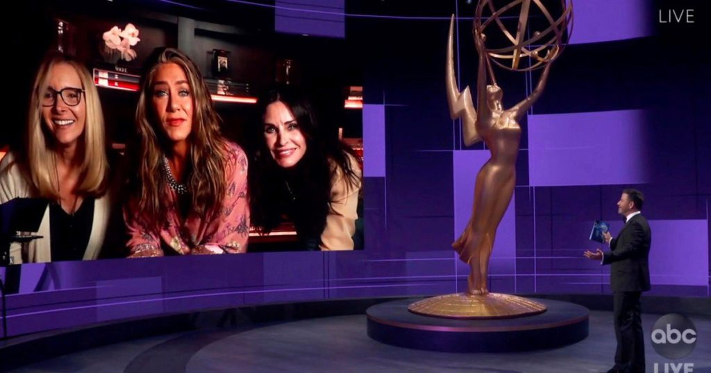 Delta alert: the Emmy Awards will reduce their capacity and will return to a gala in pandemic format