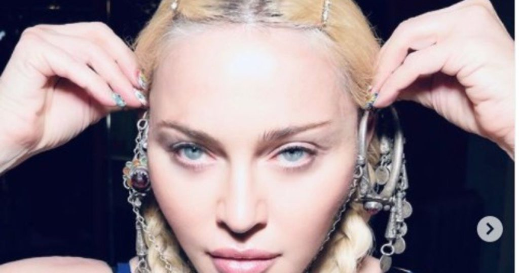 Madonna turned 63 and criticized for Photoshop