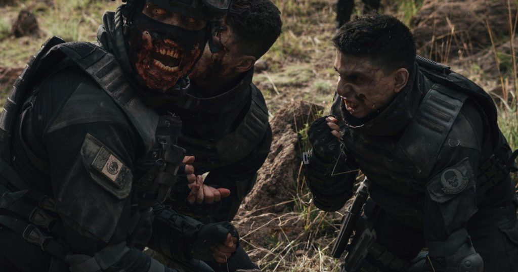 Soldiers or Zombies: how is the series that combines Mexican drug traffickers with the living dead