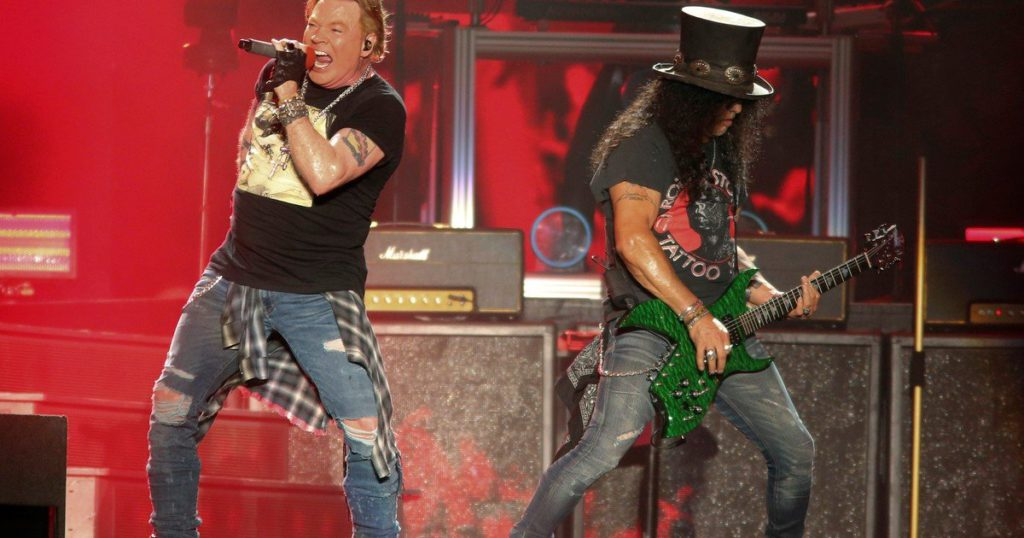 """Guns N 'Roses """"post-pandemic"""": the band released Absurd, their first unreleased song in 13 years"""