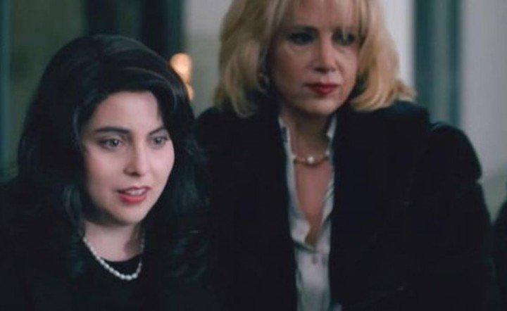 """""""Impeachment"""" it's set in the '90s.  Monica Lewinsky is on the production team.  He did not participate in this talk."""