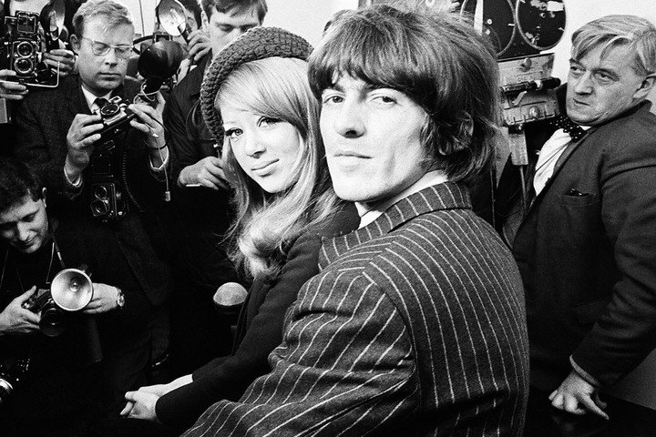 Pattie and George, the couple of the moment, which spanned 11 years.