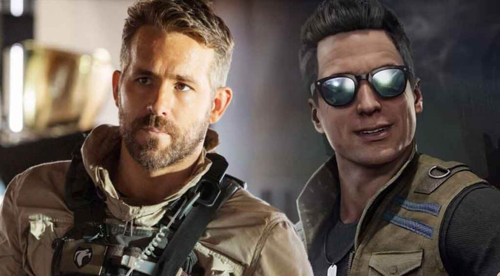 Supposed Ryan Reynolds as Johnny Cage