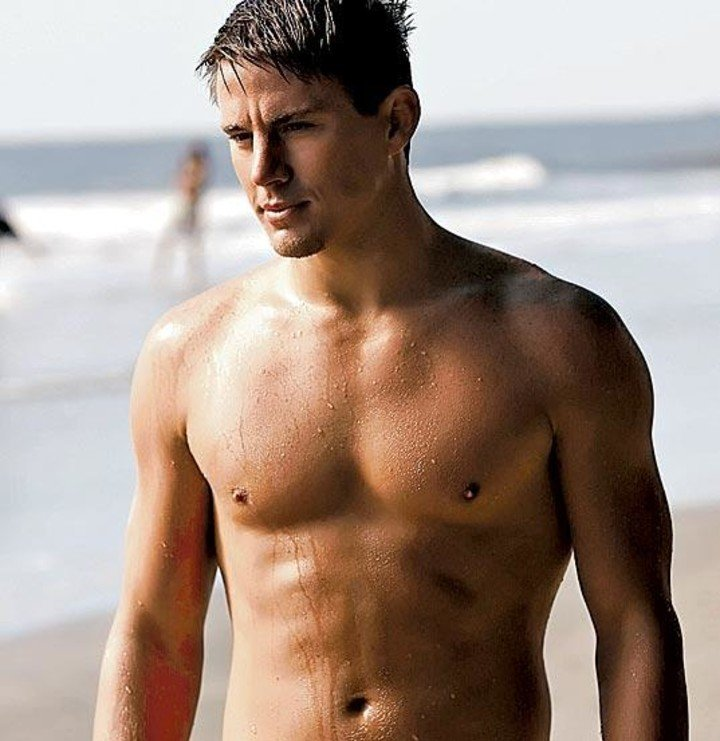 Channing Tatum, one of the actors they think of to play the role of Kevin Costner.
