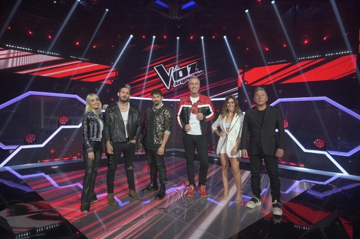 The jury of La Voz Argentina, responsible for the final result of the contest.