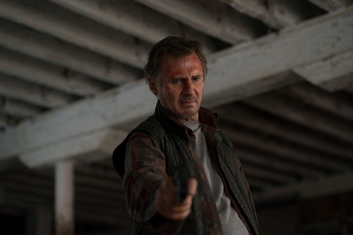 Liam Neeson, the 69-year-old Irishman is still successful in action movies. Photo BF Paris