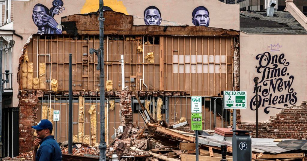 Hurricane Ida spared even jazz: it destroyed a landmark building where Louis Armstrong worked