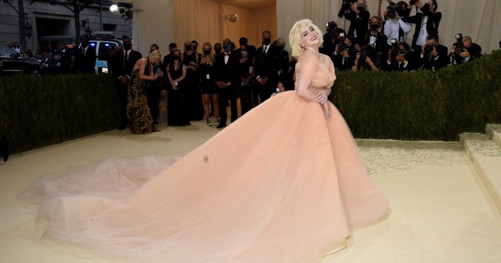 The MET gala, in New York: Billie Eilish, Timothée Chalamet and Naomi Osaka shone on the red carpet