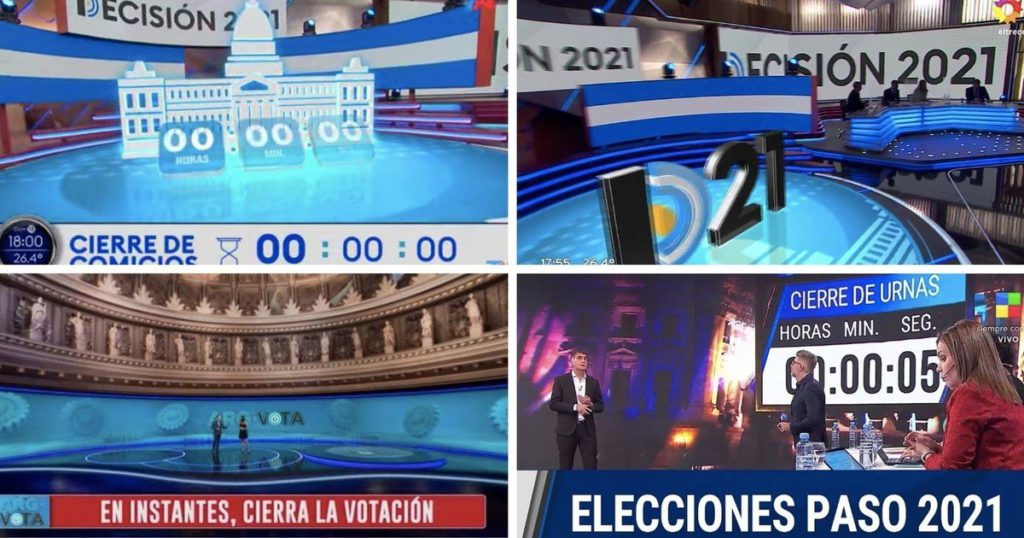 Elections STEP 2021: the TV rating and the network thermometer