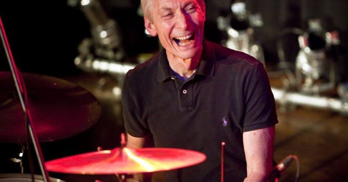 Charlie Watts: a modest wake, which The Rolling Stones did not go to