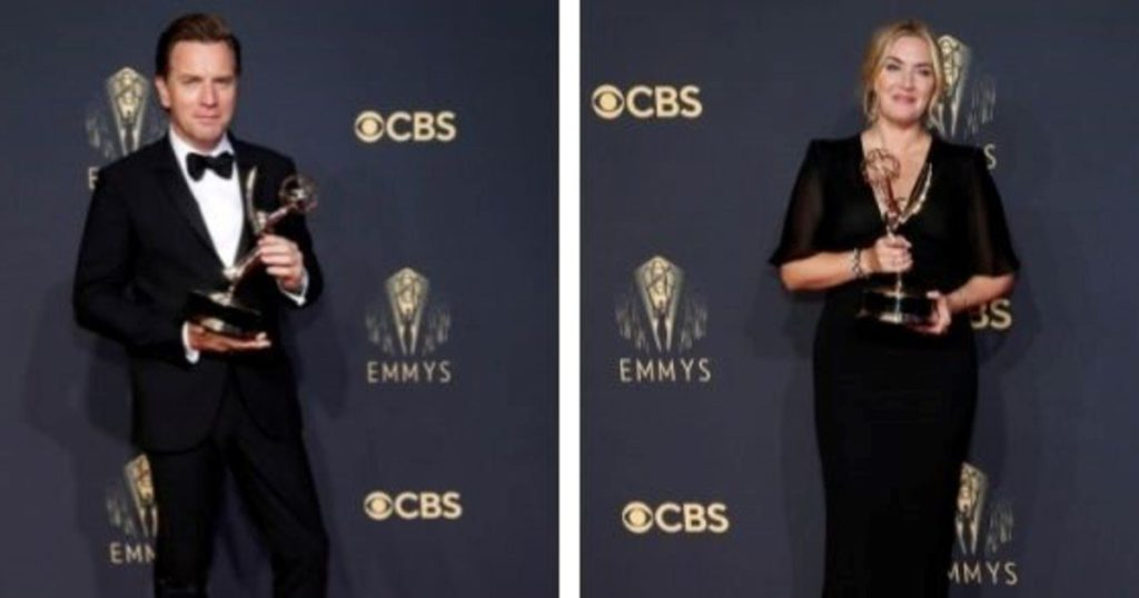 From cinema to series: Kate Winslet and Ewan McGregor, two of the great winners of the Emmy 2021