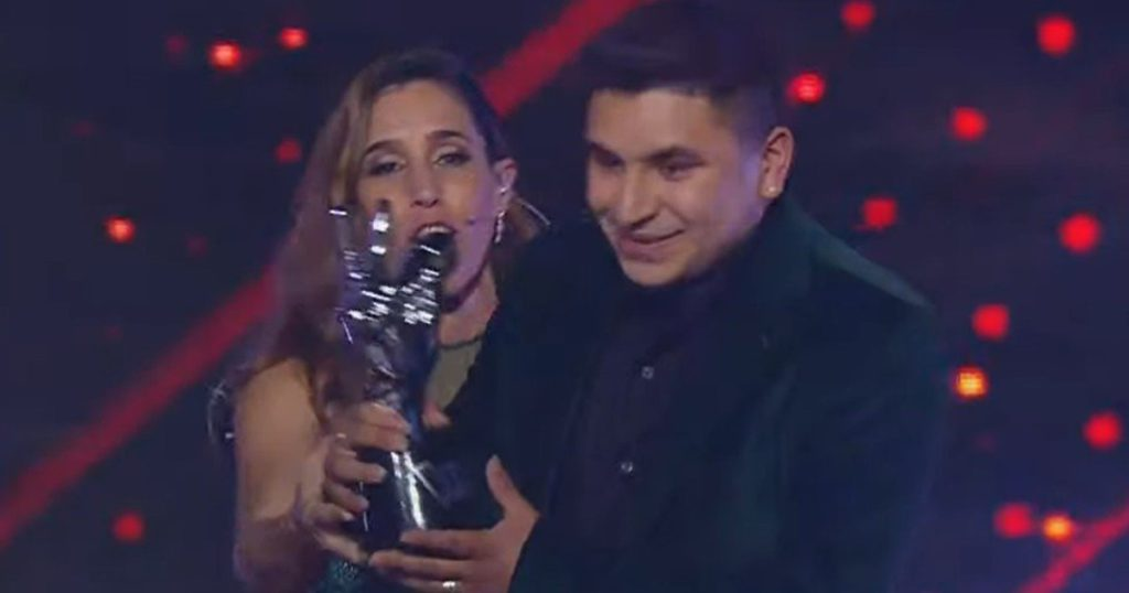 How was the rating of La Voz Argentina: the most viewed of the year?