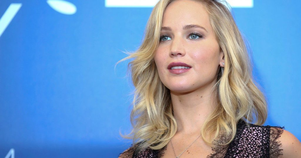 Actress Jennifer Lawrence is pregnant for the first time