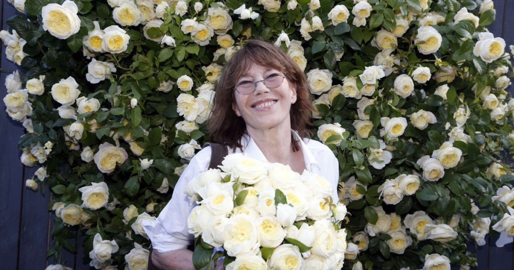 Singer and actress Jane Birkin suffered a stroke