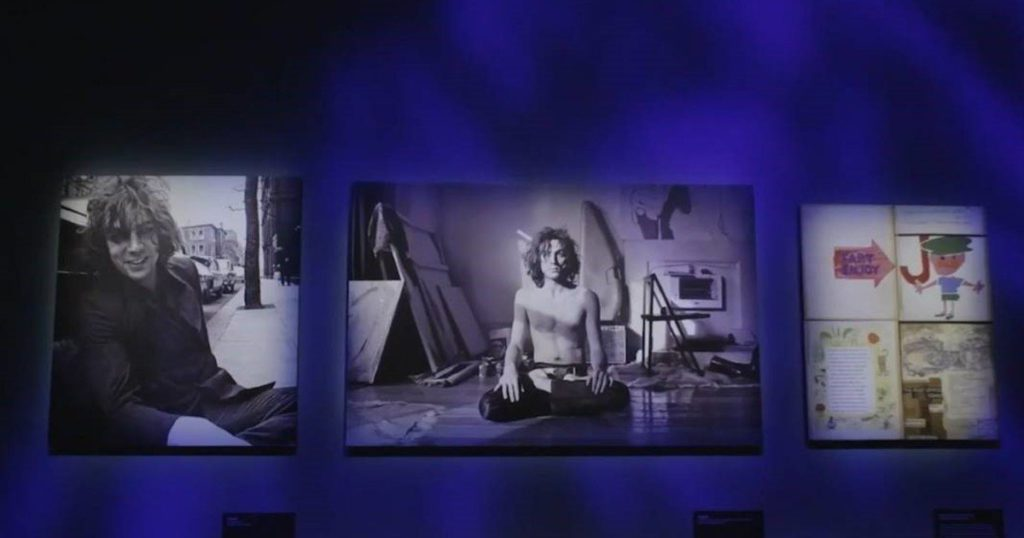 An exhibition on Pink Floyd, on the Walk of Fame