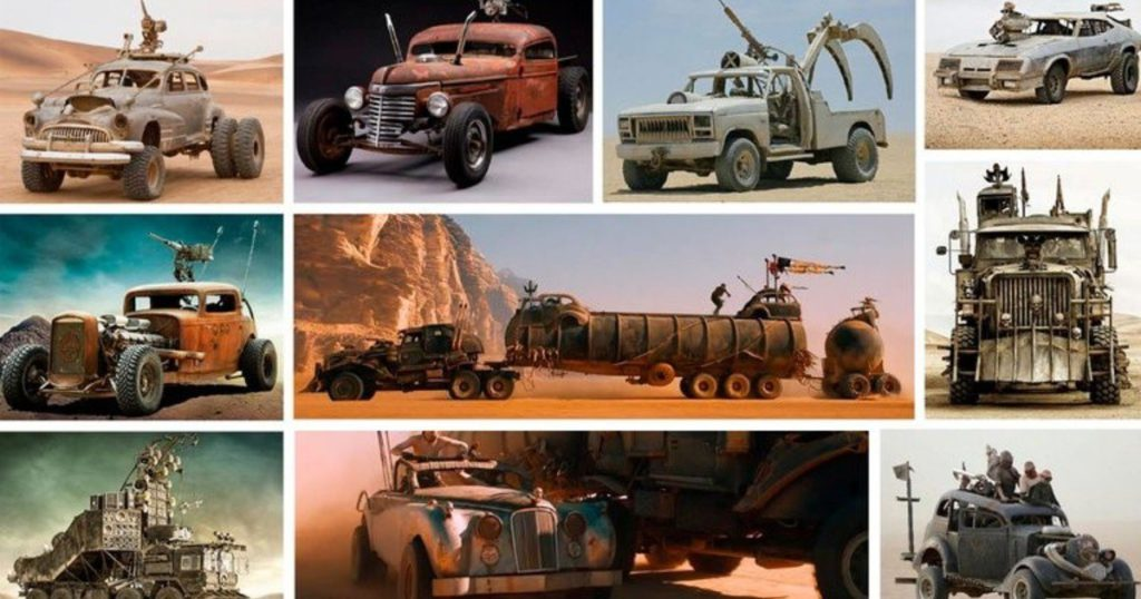 Mad Max Fury Road's strange vehicles up for auction