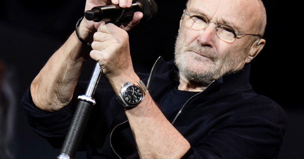 Phil Collins will perform again, although he can no longer play drums