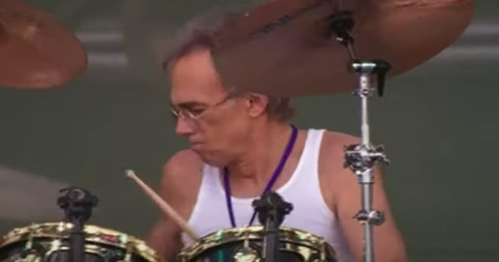 """Ron Bushy, the Iron Butterfly drummer from whom Ringo Starr """"stole"""" part of a historic solo, has died"""