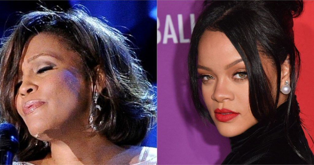 Rihanna could become the new Whitney Houston