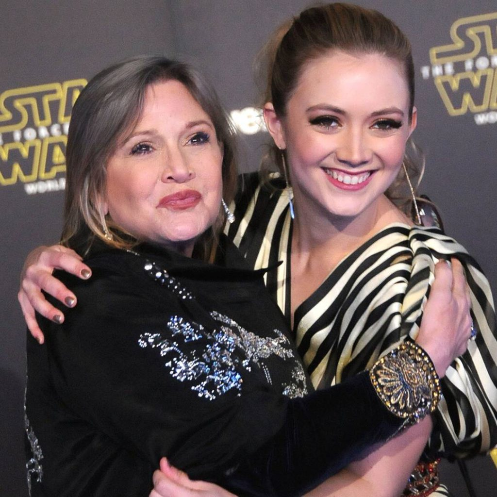 Billie Lourd Honors Late Mom Carrie Fisher With Heartwarming Childhood Photo