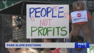 Brooklyn tenants face evictions as real estate firm buys hundreds of apartments