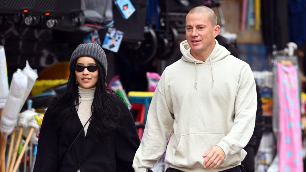 Channing Tatum and Zoë Kravitz Spotted Holding Hands During NYC Lunch Date: Pic!